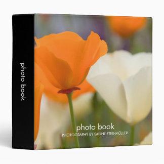 California Poppies Photo Book Binder