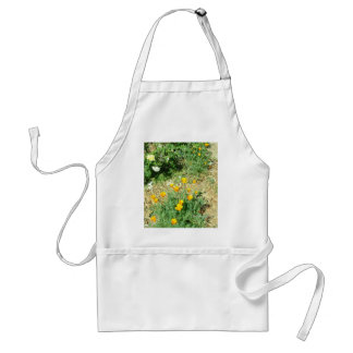 California Poppy #6 Adult Apron