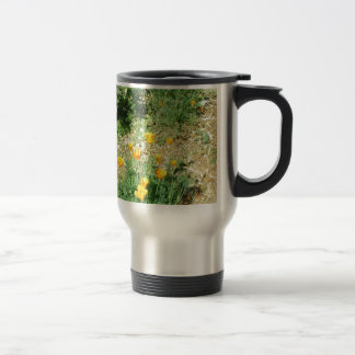 California Poppy #6 Travel Mug
