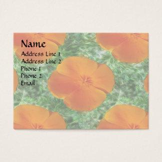 California Poppy Business Card