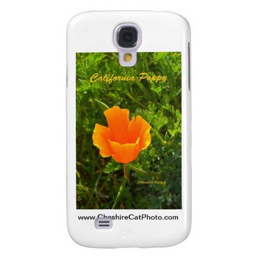 California Poppy California Products Samsung Galaxy S4 Case