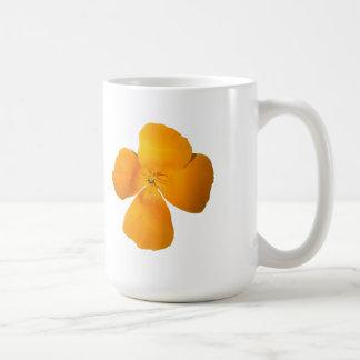California Poppy Classic White Mug
