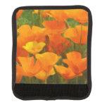 california poppy impasto luggage handle wrap