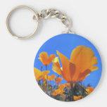 California Poppy Key Chains