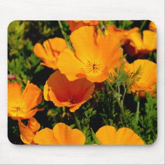 """California Poppy"" Mouse Pad"