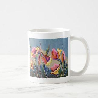 California Poppy Classic White Coffee Mug
