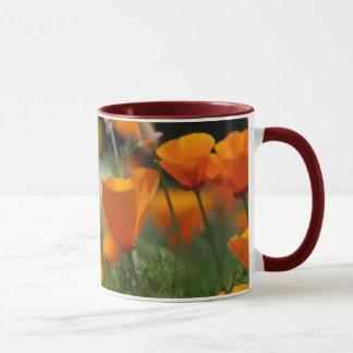 California Poppy Mug