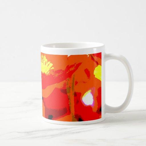 California Poppy Mugs