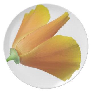 California poppy plate