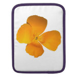 California Poppy Sleeves For iPads