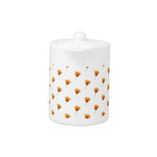 California Poppy Small Teapot