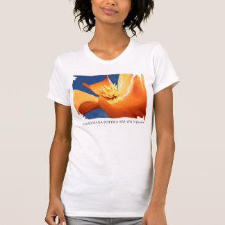 California Poppy Tank Tee Shirt