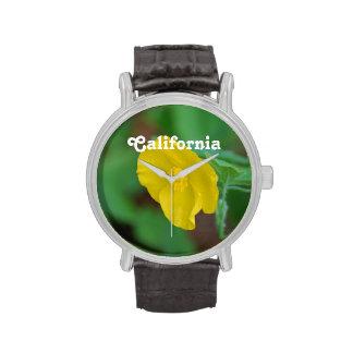 California Poppy Wristwatch