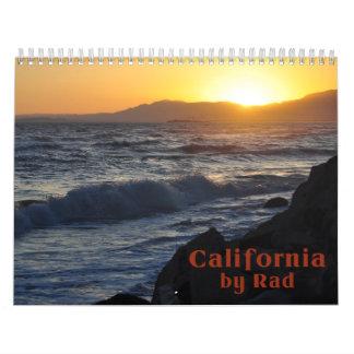 California por el Rad Calendarios De Pared