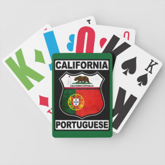 California Portuguese American Bicycle Playing Cards