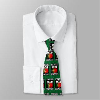 California Portuguese American Tie