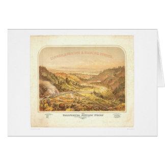 California Powder Works in Santa Cruz (0195A) Card