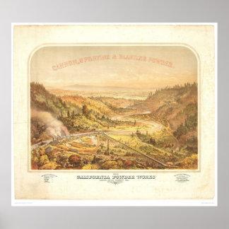 California Powder Works in Santa Cruz (0195A) Poster
