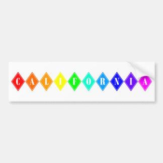 california pride. bumper stickers