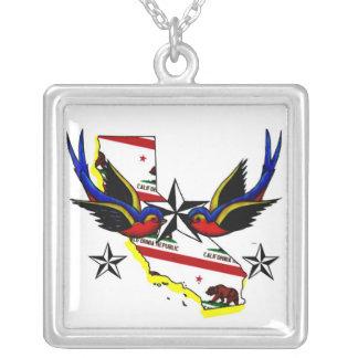 California Pride Custom Necklace