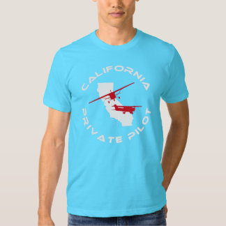 California Private Pilot Tee Shirt