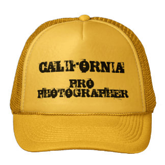 CALIFORNIA PRO PHOTOGRAPHER Hat