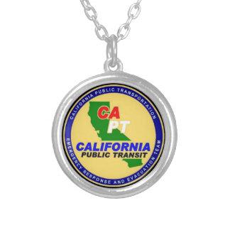 California Public Transportation necklace