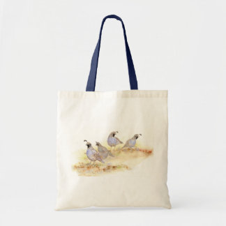 California Quail, Birds, Nature, Wildlife, Tote Bag