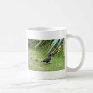California quail coffee mug