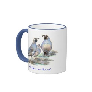 California Quail Mug mug