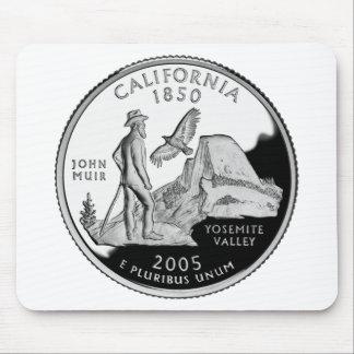 California Quarter Mouse Pad