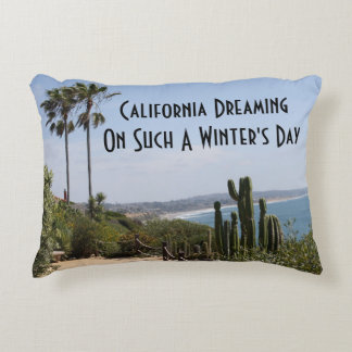California que soña la almohada del acento cojín
