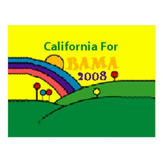 California Rainbow Postcard