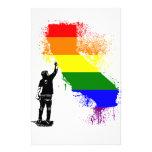 California Rainbow Stationery