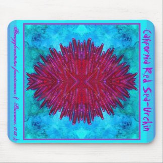 California Red Sea-Urchin Mouse Pad