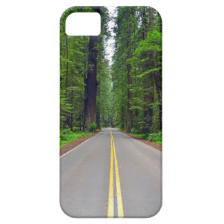 California redwood forest highway image iPhone SE/5/5s case