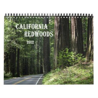 California Redwoods 2012 calendar