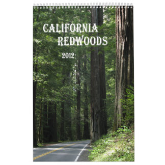 California Redwoods 2012 calendar