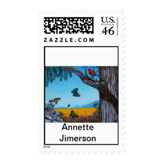 California Redwoods Postage Stamps