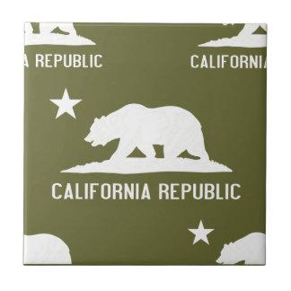 California Republic 1 Any Color Tile