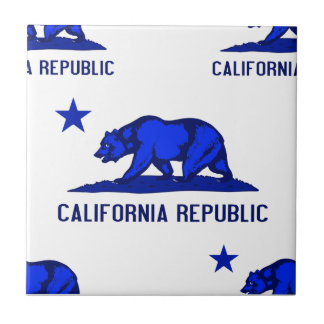 California Republic 1 Blue Tiles