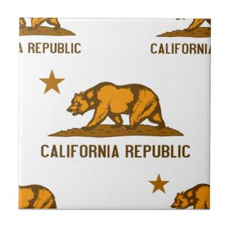 California Republic 1 Orange Tile