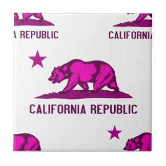 California Republic 1 Pink Tiles