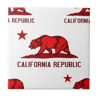 California Republic 1 Red Tiles
