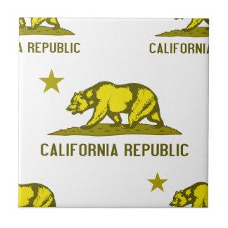 California Republic 1 Yellow Tiles