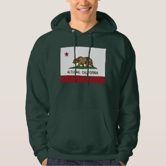 California Republic Alturas Flag Hoodie