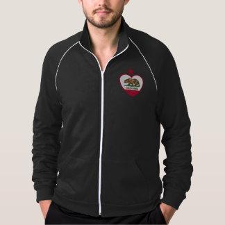 California Republic American Apparel Fleece Track Jacket