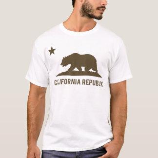 California Republic - Basic - Brown T-Shirt