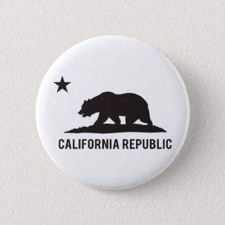 California Republic - Basic Pinback Button