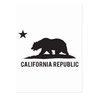 California Republic - Basic Postcard